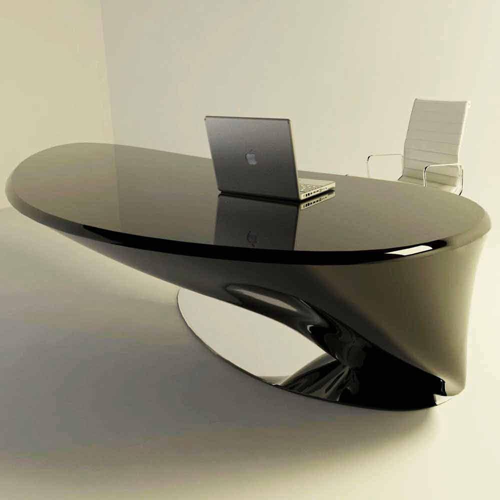 moderner schreibtisch italienisches design atkinson. Black Bedroom Furniture Sets. Home Design Ideas