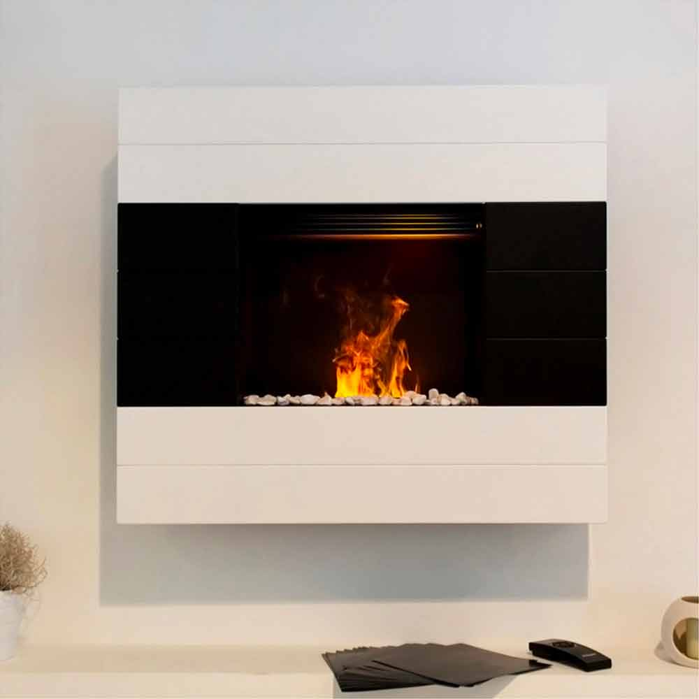elektro wandkamin mit heizung design besson. Black Bedroom Furniture Sets. Home Design Ideas