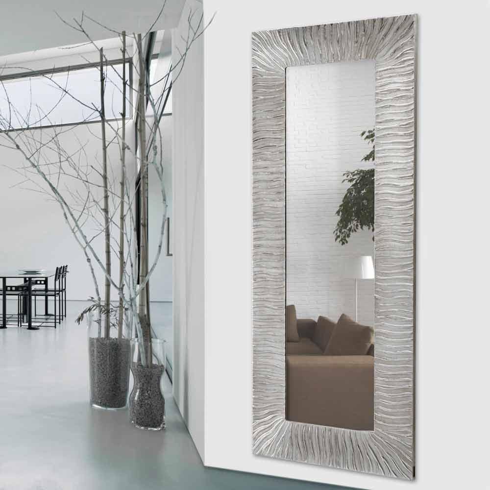 Wandspiegel onde made in italy viadurini decor for Wandspiegel design