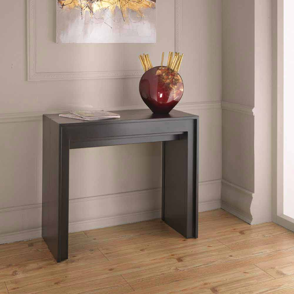 konsole verl ngerbar esstisch lie. Black Bedroom Furniture Sets. Home Design Ideas