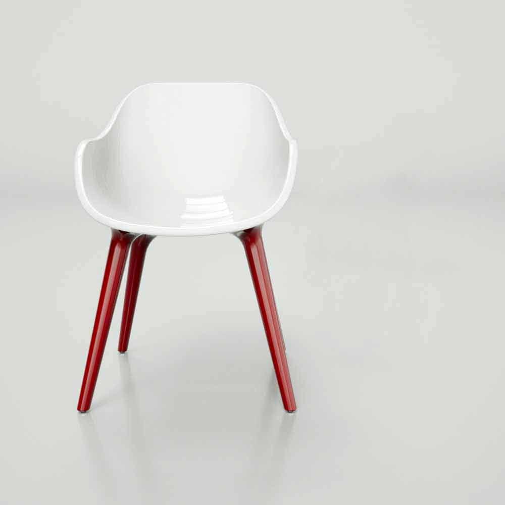 stuhl in modernem design man made in italy. Black Bedroom Furniture Sets. Home Design Ideas