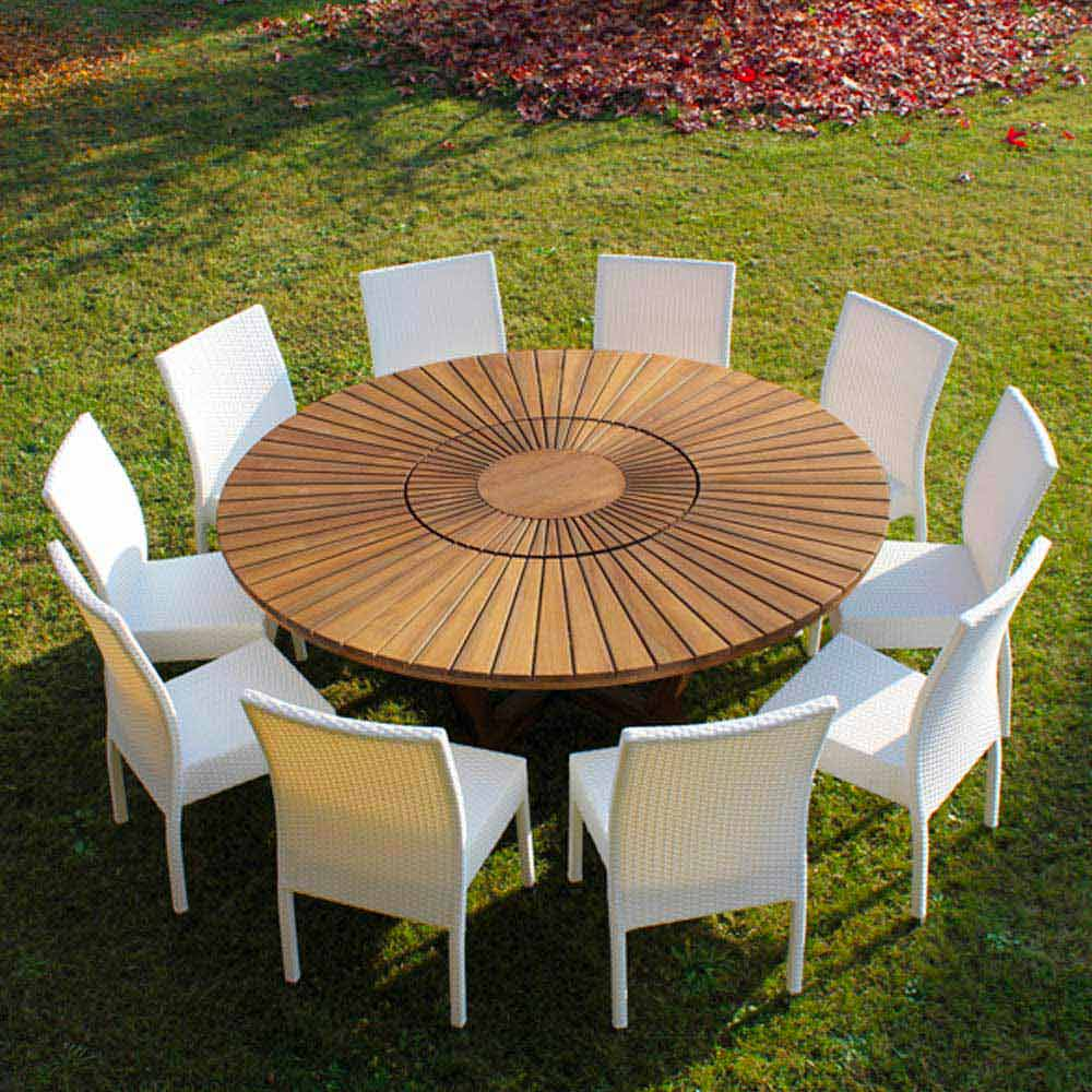 Runder Gartentisch With Runder Gartentisch Perfect Verkauft