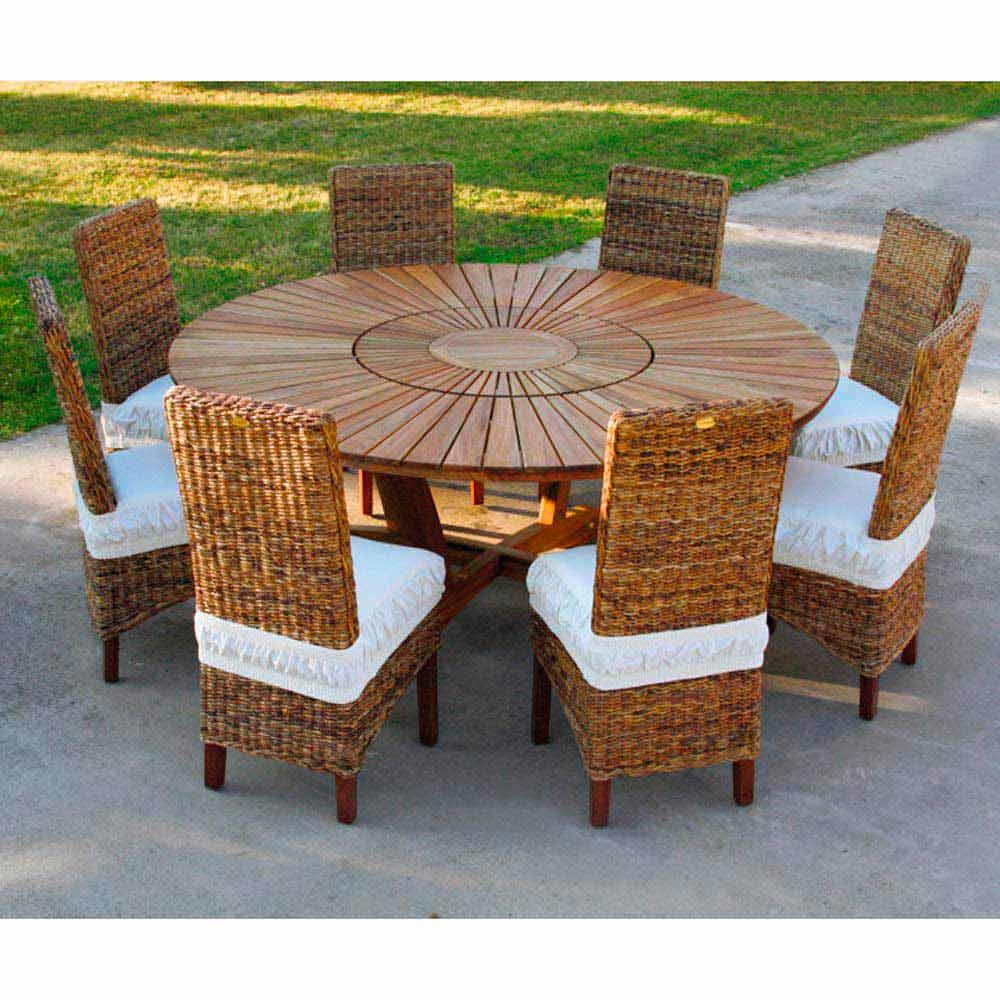 Malerisch Runder Gartentisch Foto Von Echt Round Table Table Außen