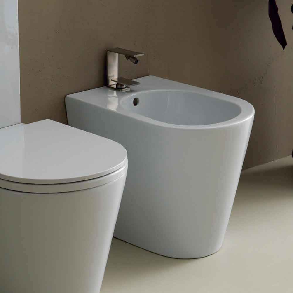bidet aus keramik 57x37 modernes design sun made in italy. Black Bedroom Furniture Sets. Home Design Ideas