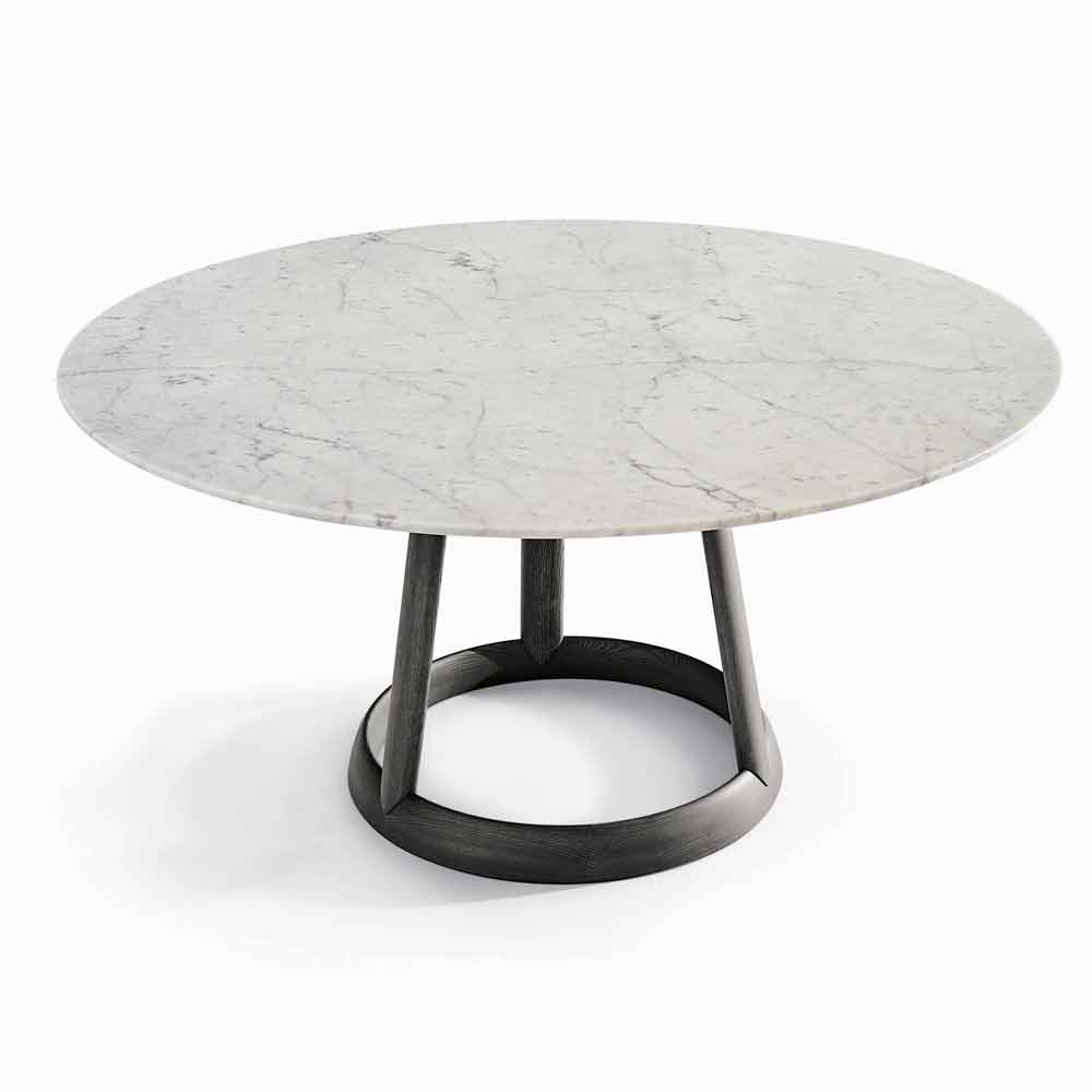 Bonaldo greeny runder tisch carrara marmor tischplatte for Carrara marmor tisch