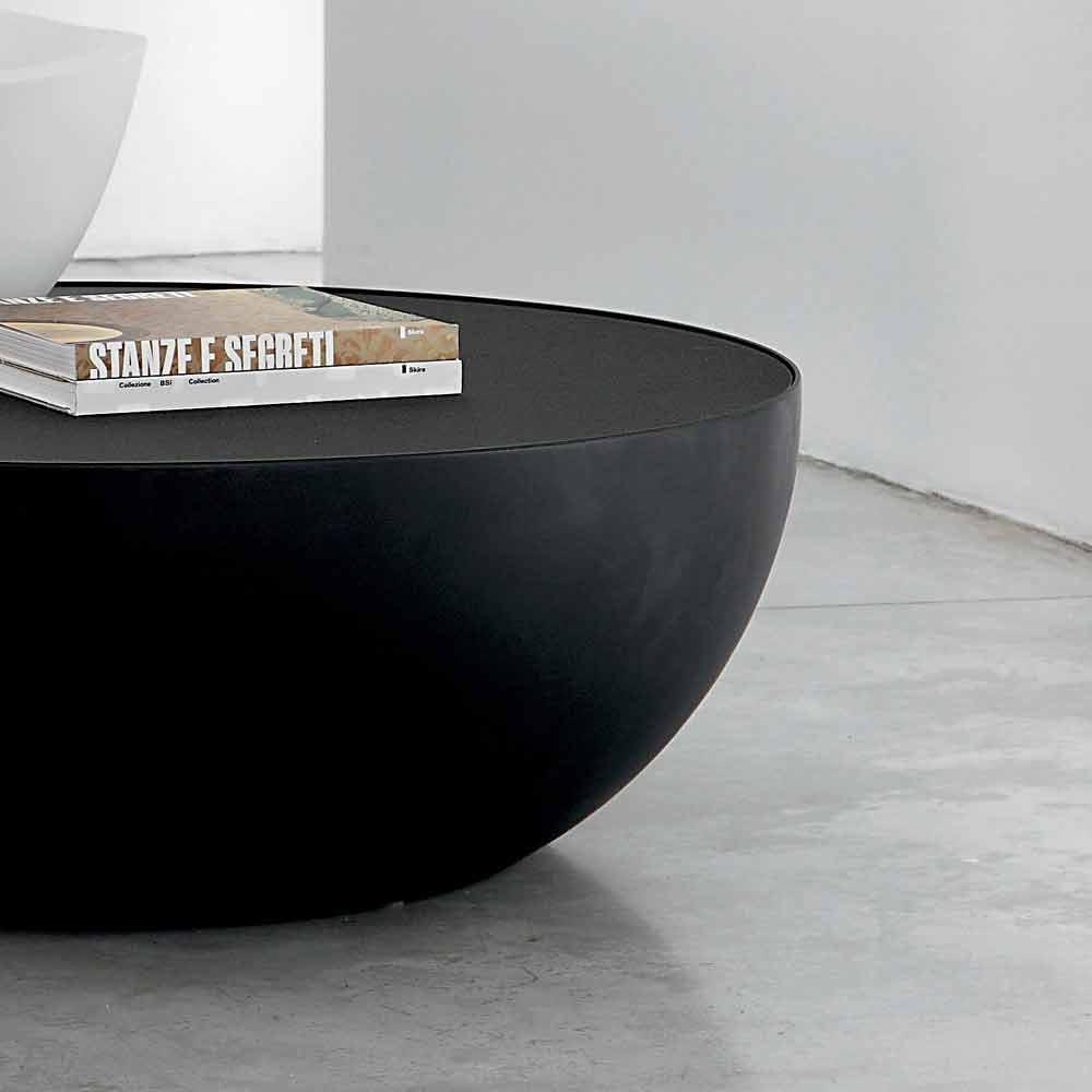 Bonaldo Planet Tischchen Satiniertes Kristallglas Made In