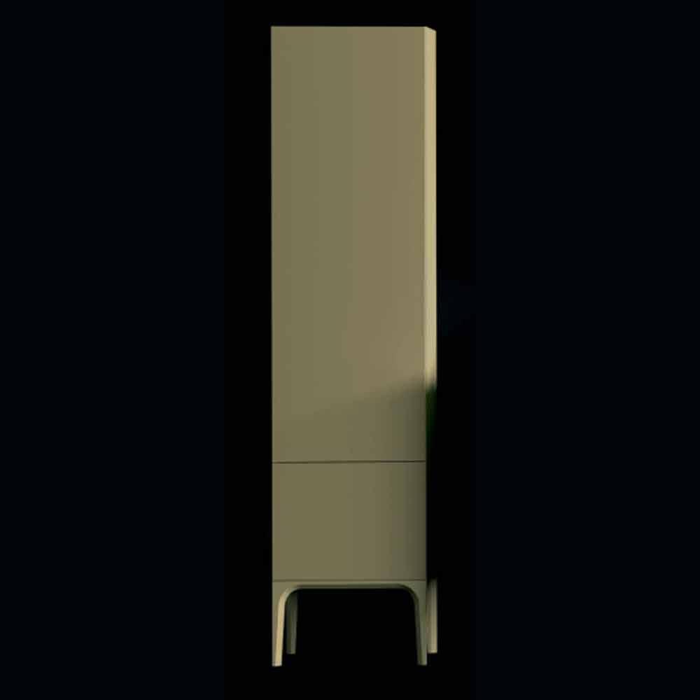 amanda badezimmerschrank aus holz mit 2 t ren modernes. Black Bedroom Furniture Sets. Home Design Ideas