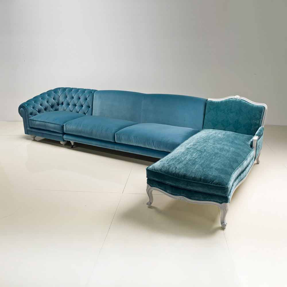 Ecksofa klassisches luxury design made in italy narciso - Design ecksofa ...