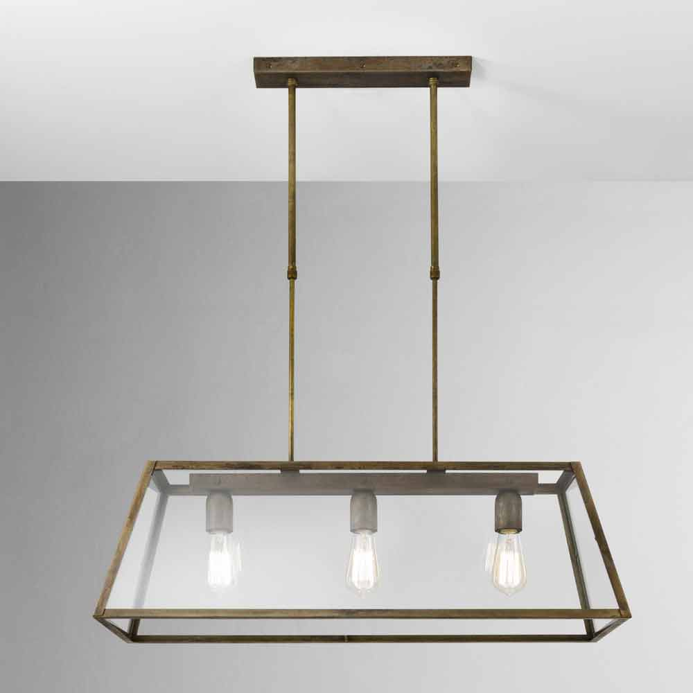 pendelleuchte industrie style aus eisen london il fanale. Black Bedroom Furniture Sets. Home Design Ideas