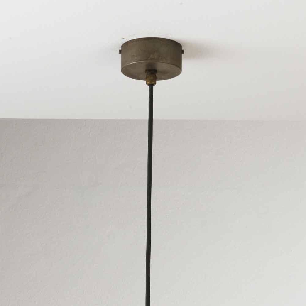 pendelleuchte klein im vintage stil aus eisen il fanale. Black Bedroom Furniture Sets. Home Design Ideas