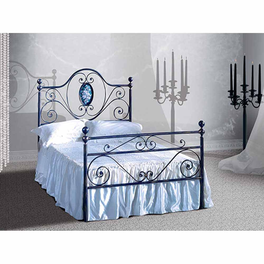 altea jugend queen size bett aus schmiedeeisen. Black Bedroom Furniture Sets. Home Design Ideas
