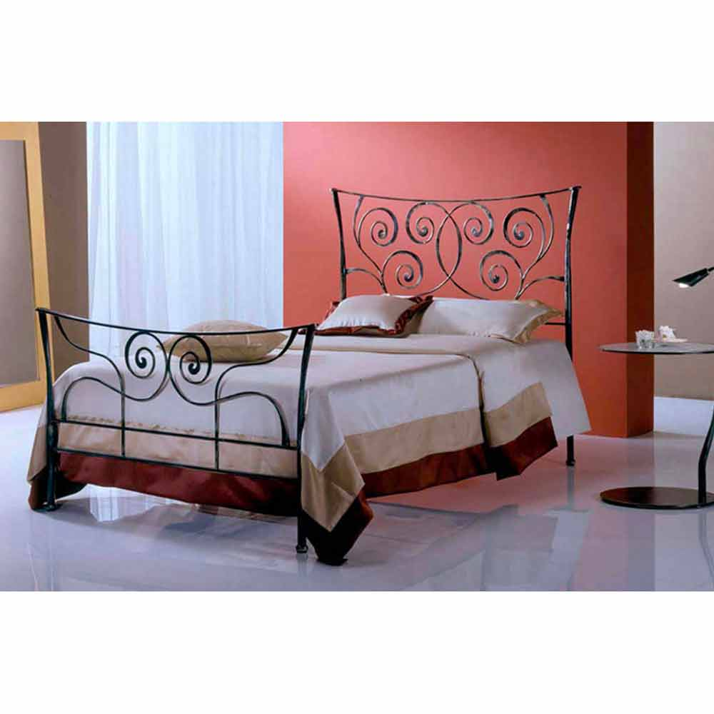 ares jugend queen size bett aus schmiedeeisen. Black Bedroom Furniture Sets. Home Design Ideas