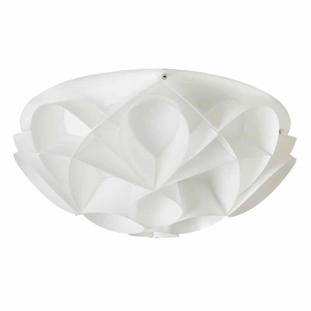 3 lichter deckenleuchte in italien perlwei durchmesser 51 cm lena gemacht. Black Bedroom Furniture Sets. Home Design Ideas