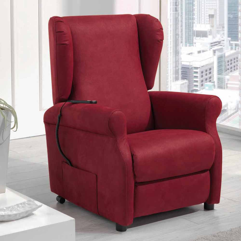 relaxsessel mit aufstehhilfe und 1 motor made in italy via. Black Bedroom Furniture Sets. Home Design Ideas