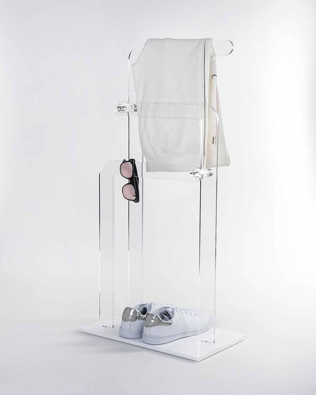 Bad Handtuchhalter aus Plexiglas PMMA Zanica