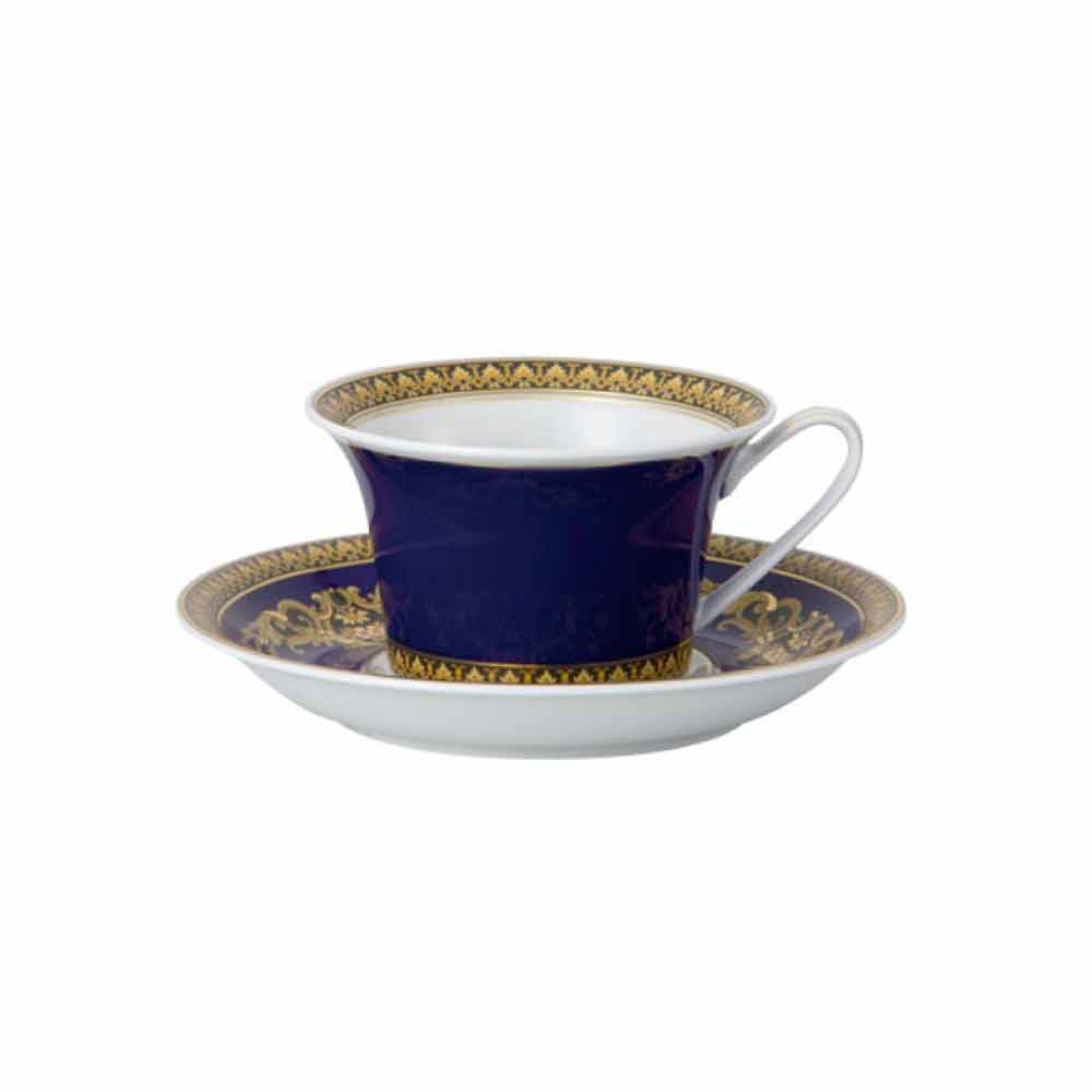 rosenthal versace medusa blue teetasse aus modernem porzellan design. Black Bedroom Furniture Sets. Home Design Ideas