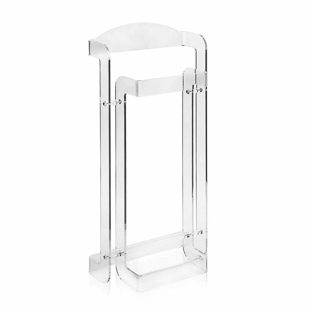 wertvolles modernes design aus transparentem mose plexiglas hergestellt in italien. Black Bedroom Furniture Sets. Home Design Ideas