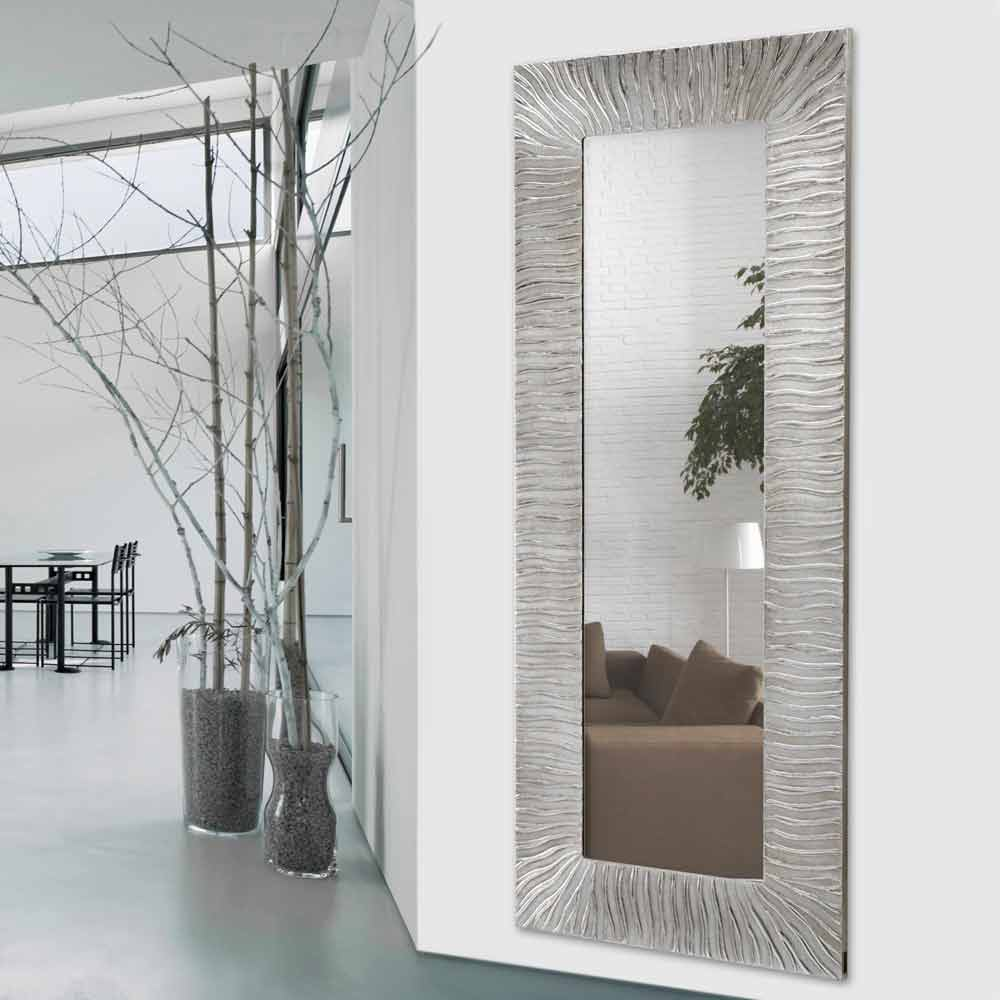 Wandspiegel onde made in italy viadurini decor - Grand miroir mural sur mesure ...