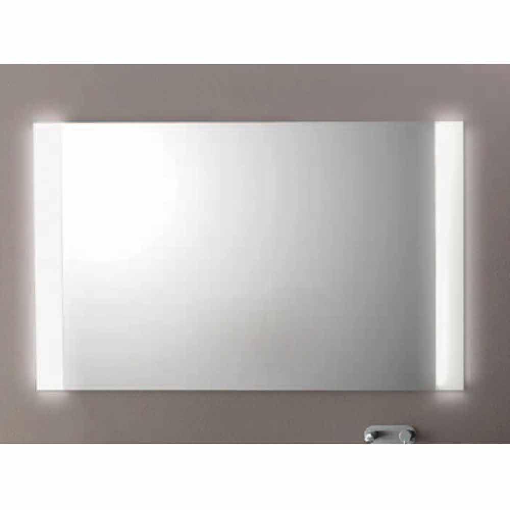 moderner badezimmerspiegel mit led leuchten mm achat. Black Bedroom Furniture Sets. Home Design Ideas