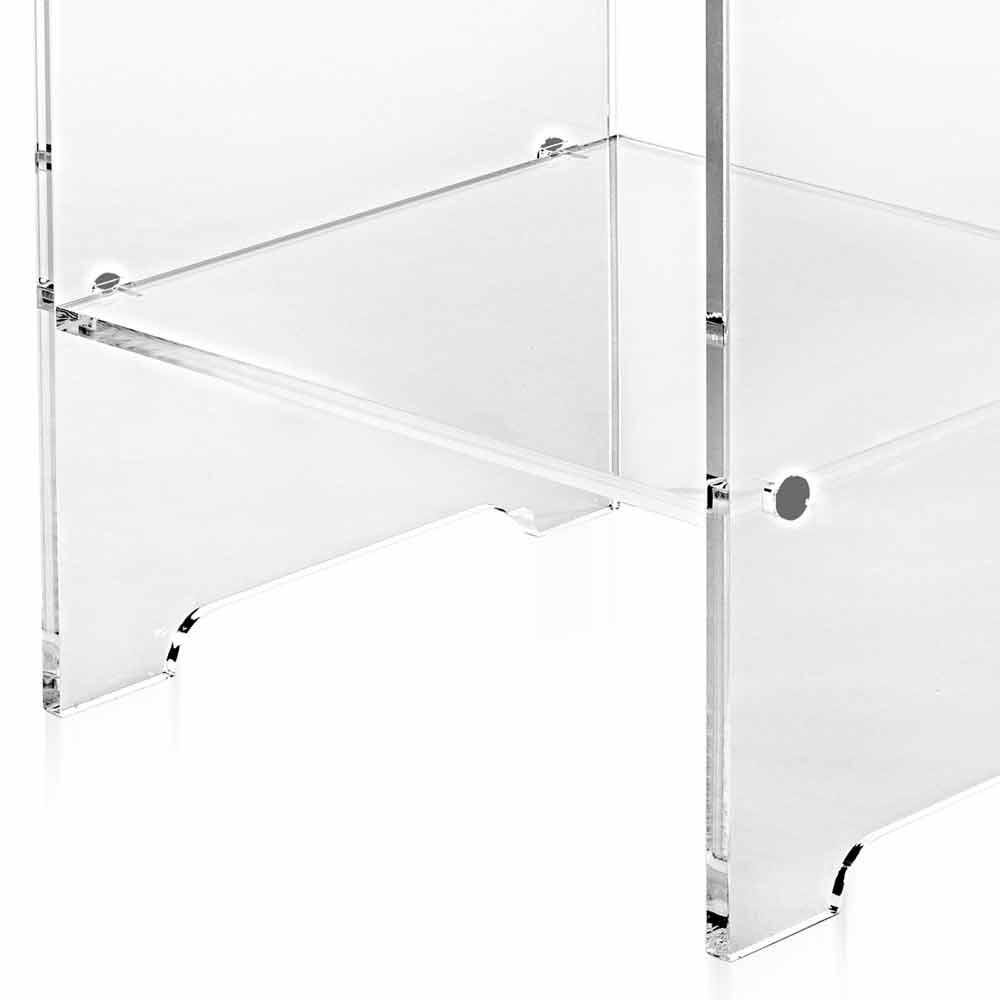 Mimi moderner design transparenter couchtisch nachttisch for Designer couchtisch italien