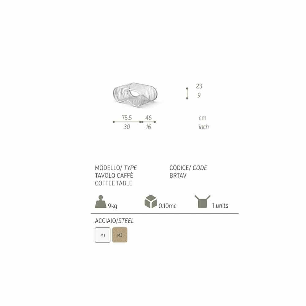 Beistelltisch f r den au enbereich in modernem design breez for Beistelltisch aussenbereich