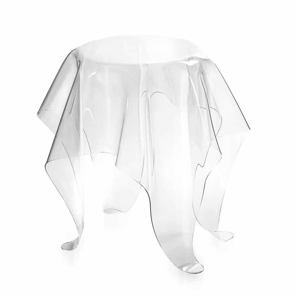 Moderner beistelltisch aus transparentem plexiglas otto for Plexiglas beistelltisch