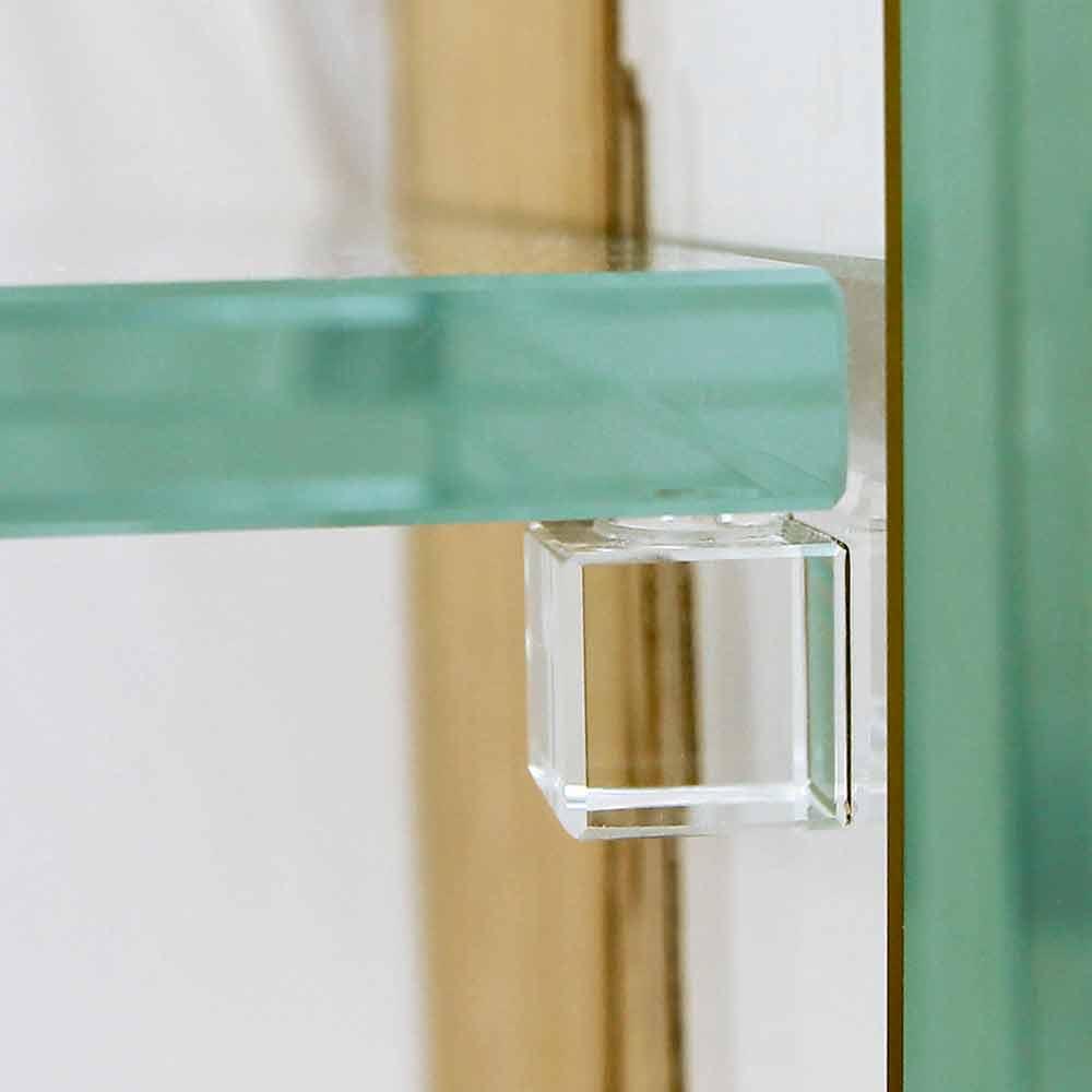 konsolentisch aus briccola holz aus venedig und glas fenice. Black Bedroom Furniture Sets. Home Design Ideas