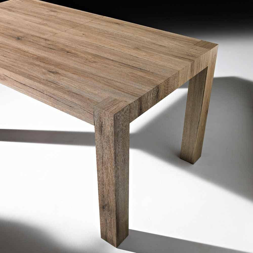Ausziehbarer bis 320cm tisch in modernem design oky for Esstisch 320