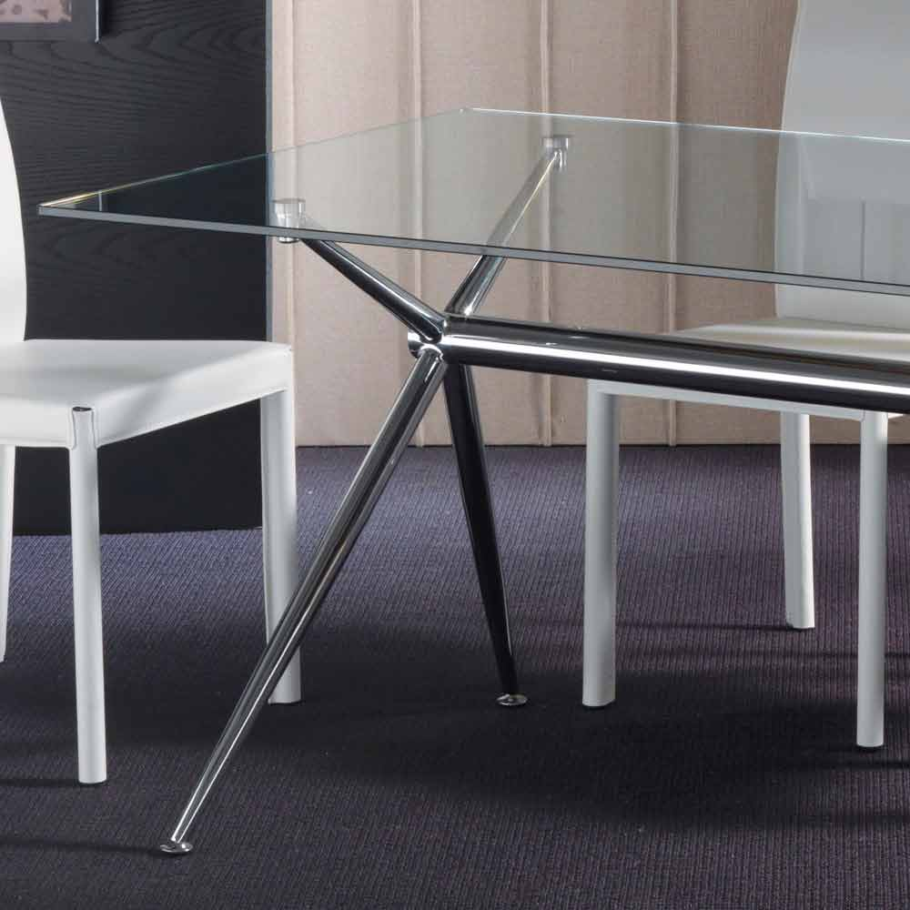 Hartglas tisch in modernem design thor for Uniq tisch thors design