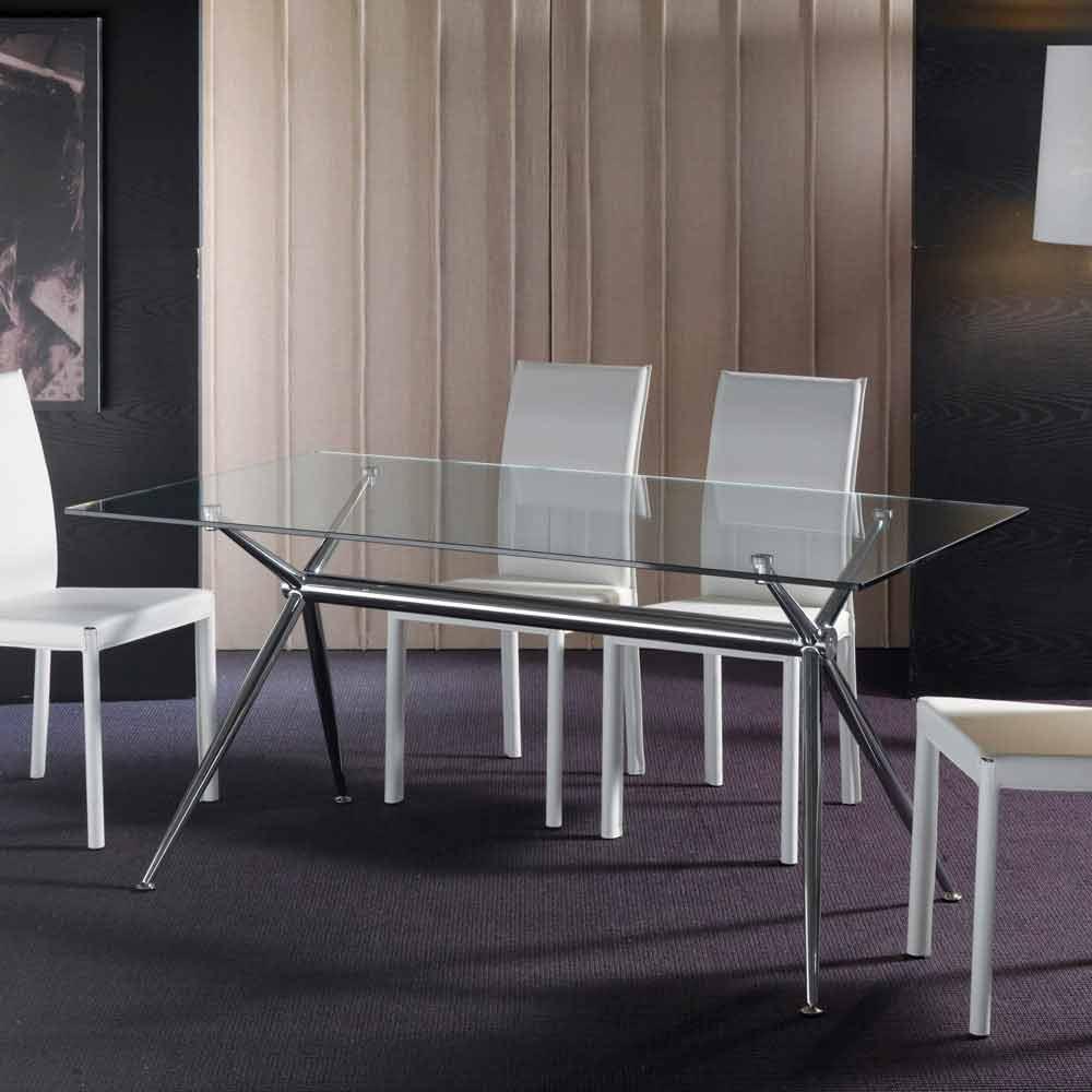 Hartglas tisch in modernem design thor for Uniq tisch thors design