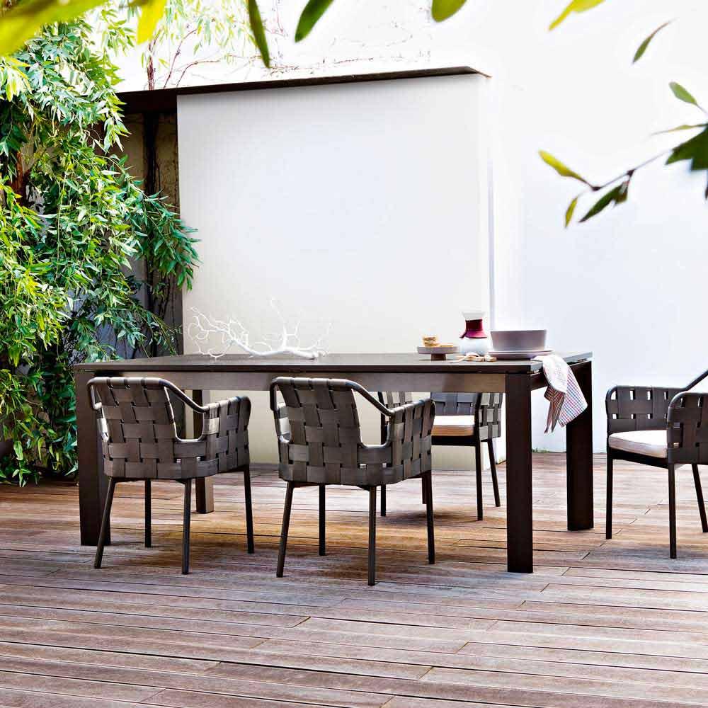 Varaschin Dolmen Indoor Outdoor Tisch ausziehbar bis zu 380 cm