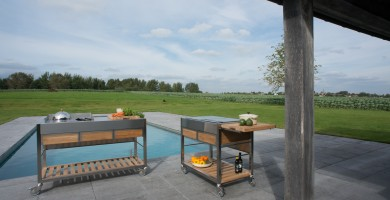 Ideen für den Außenbereich: Gartenküchen Viadurini in the Garden