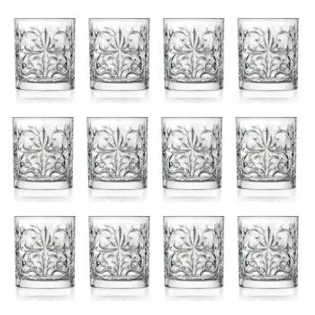12 doppelte altmodische Bechergläser aus luxuriösem Öko-Kristall - Destino