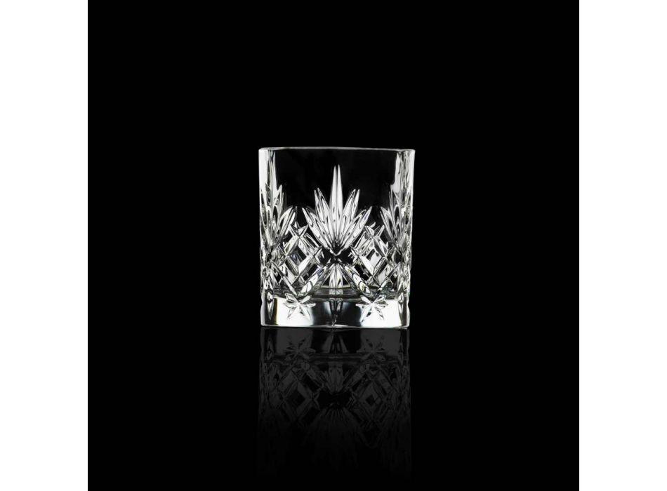 12 Vintage Design Bechergläser aus Eco Superior Sonorous Glass - Cantabile