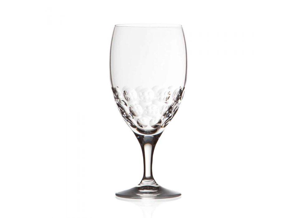 12 Biergläser in ökologischem, mit Kristall verziertem Luxusdesign - Titanioball