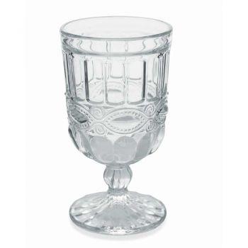 12 transparente und verzierte Glasbecher für den Weihnachtstisch - Garbobic