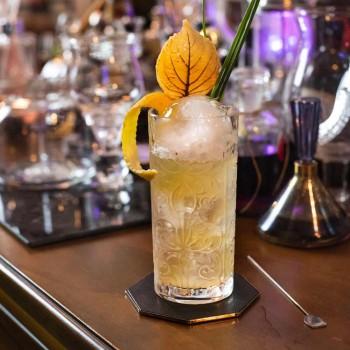 12 Tumbler Tall Highball Cocktailglas oder luxuriös dekoriertes Wasser - Schicksal