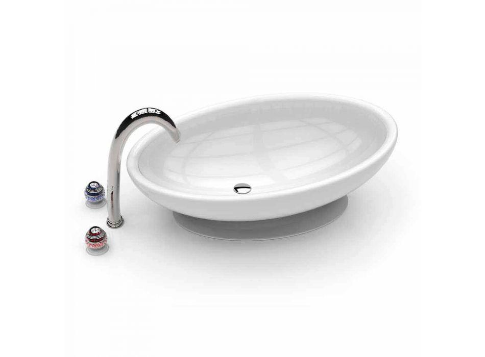 Waschbecken Badezimmer Design Ei Made in Italy