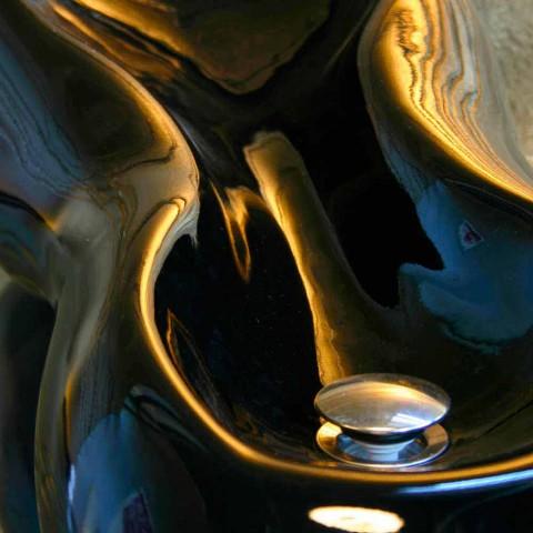 Waschbecken Modernes Design Goldline Made in Italy