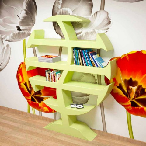 Stevenson Bibliothek Design Gemacht in Italien