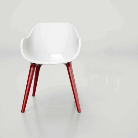 Stuhl in modernem Design Manù Made in Italy