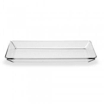 2 Plexiglasbehälter mit modernem Design aus transparentem Plexiglas - Tonio
