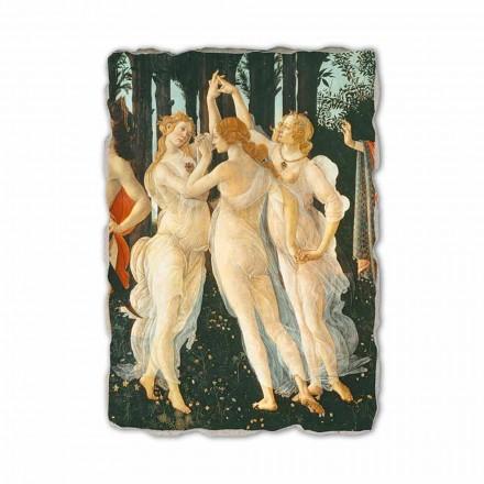 Handgefertigtes Fresko Botticelli Sinnbild des Frühlings besonderes Abbild
