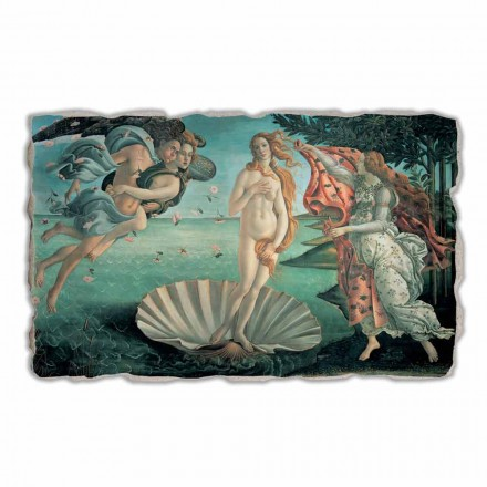 Handgefertigtes Fresko Botticelli Venus Geburt