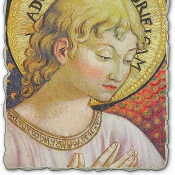 "große Benozzo Gozzoli fresco ""Chöre der Engel in Anbetung"""