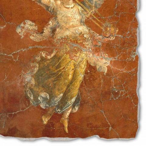 """großes Fresko handgemachte Roman """"Zyklus der Musen"""""""