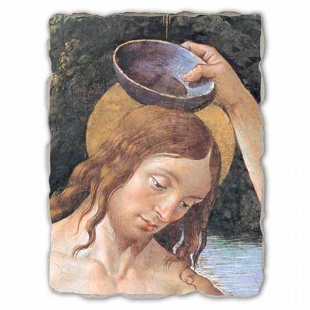 Fresko Perugino die Taufe Christus