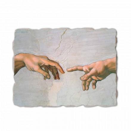Fresko Michelangelo die Erschaffung Adams  Abschnitt