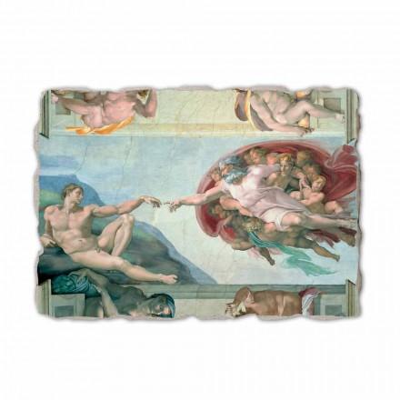 Fresko Michelangelo die Erschaffung Adams