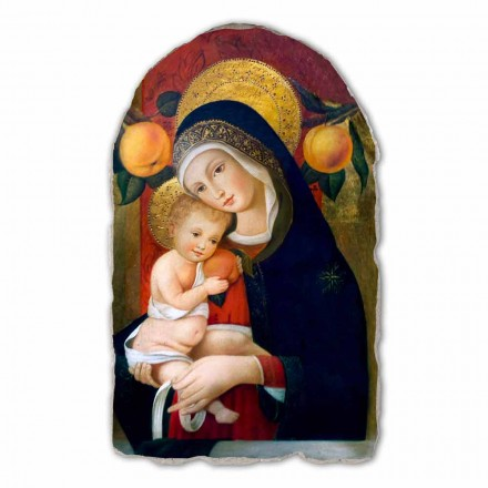 Reproduktion Carlo Crivelli Madonna mit Kind